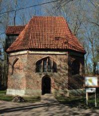 Außenansicht der Kapelle Bessin