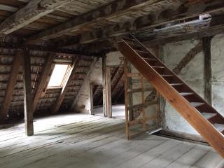 Obergeschoss nach Entkernung